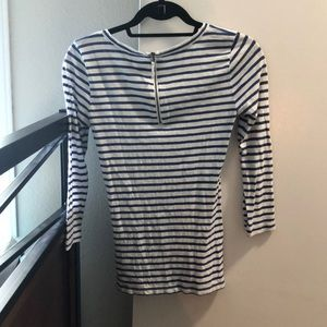 J. Crew Tops - J. Crew Long Sleeved Fitted Tee